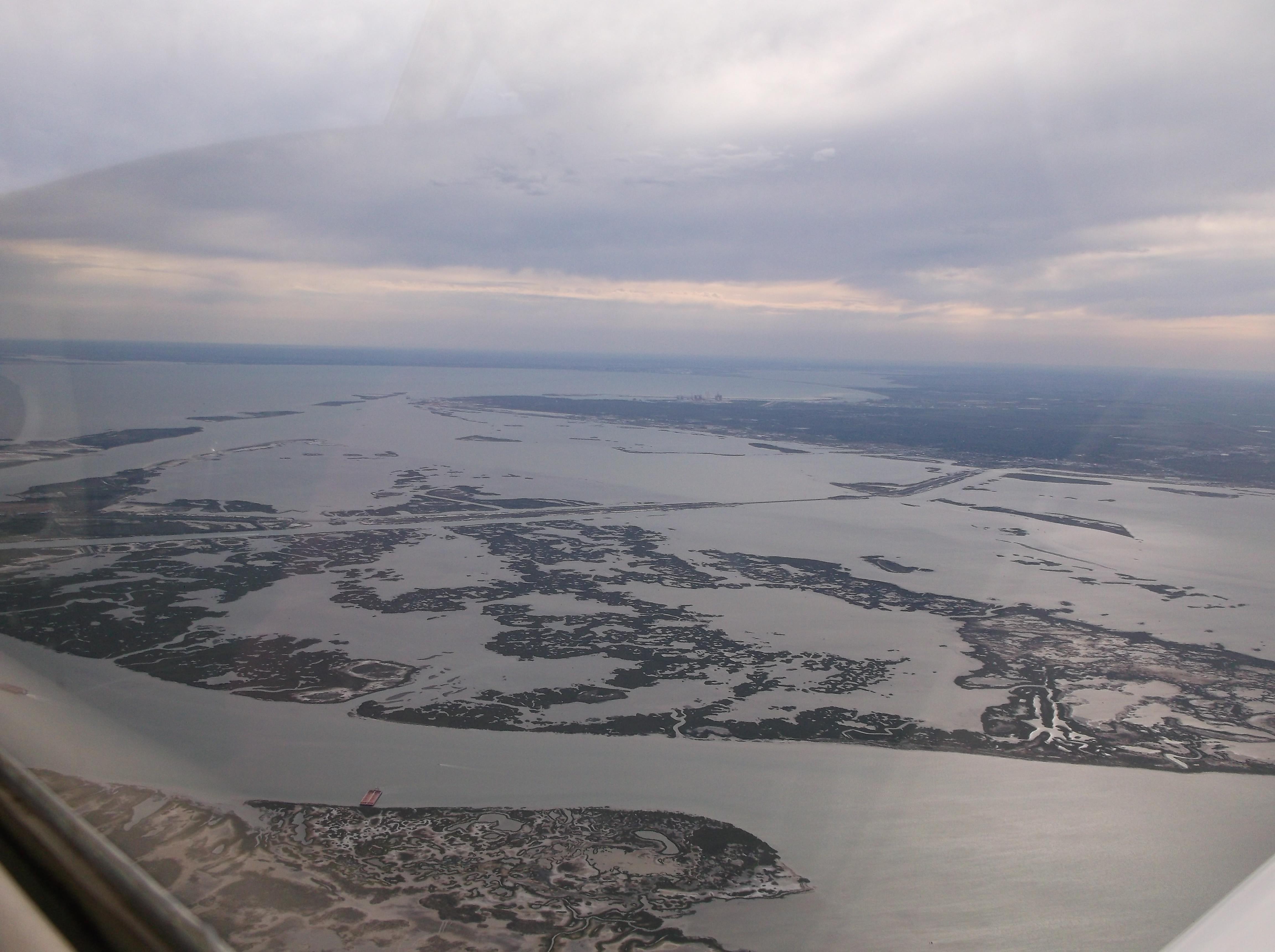 Mustang Beach Island (KRAS) Approach