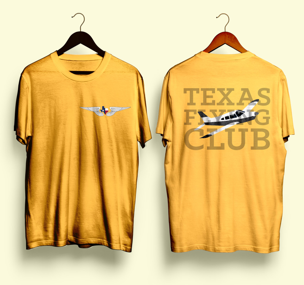 FlyingClubShirtYellow