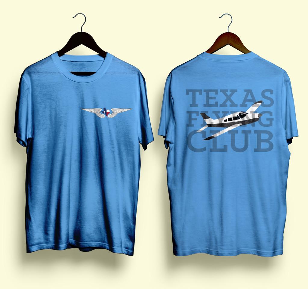 TexasFlingClubLightBlue